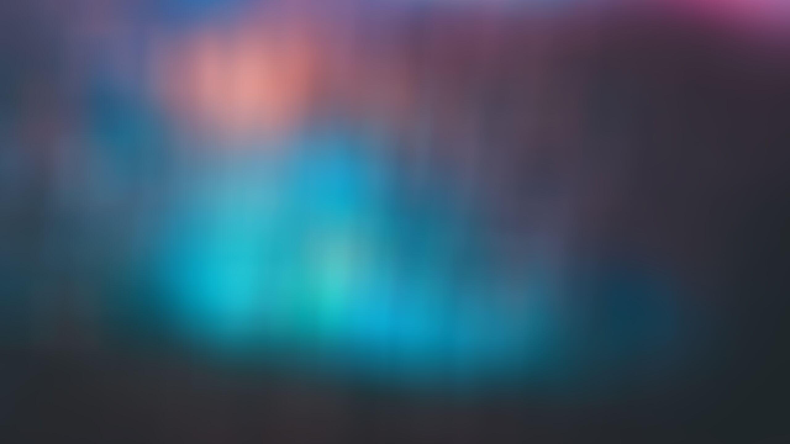 2560x1440 Blur Blue Gradient Cool Background 1440p