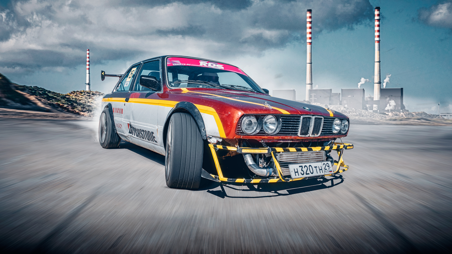 1920x1080 Bmw 3 Series E30 Drifting 5k Laptop Full Hd 1080p