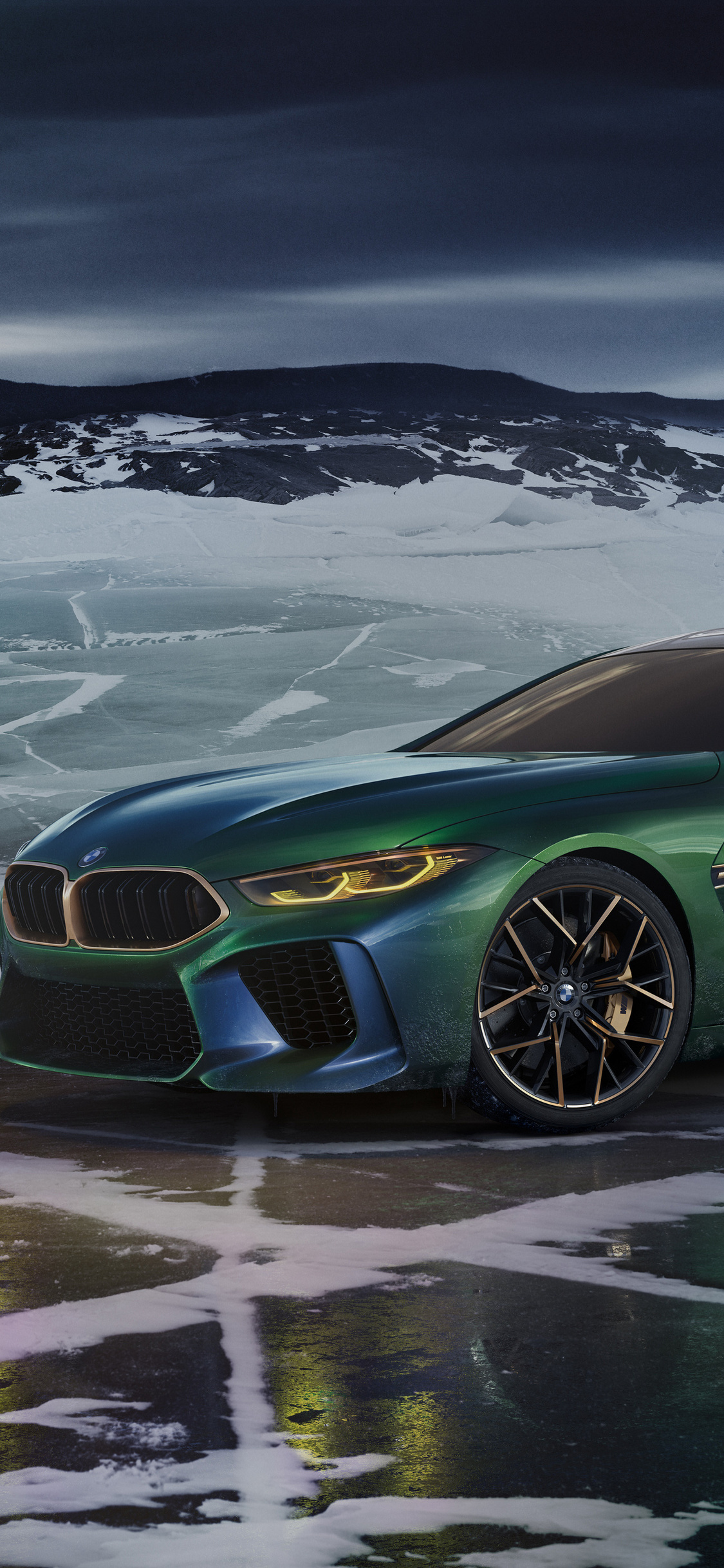 BMW Concept M8 Gran Coupe 2018 (Iphone XS,Iphone 10,Iphone X)