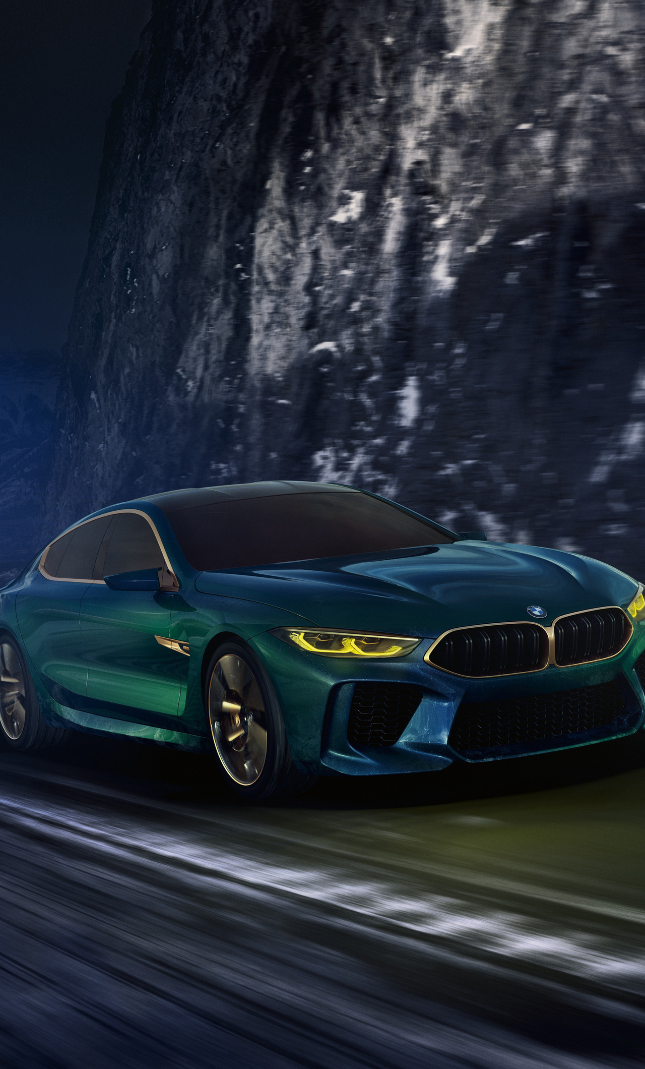 1280x2120 Bmw Concept M8 Gran Coupe Front View 4k Iphone 6 Hd 4k