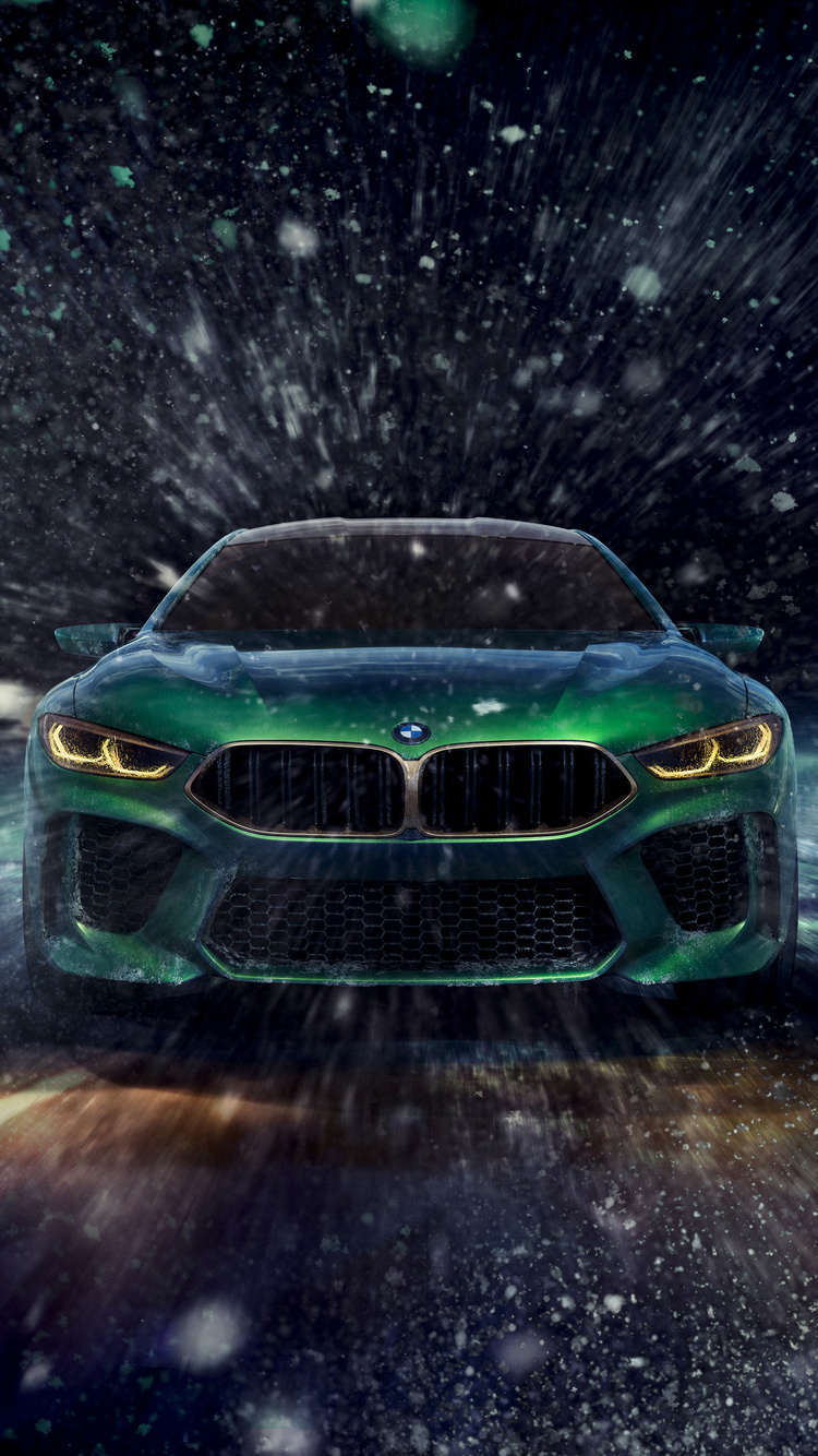750x1334 bmw concept m8 gran coupe iphone 6, iphone 6s, iphone 7 hd