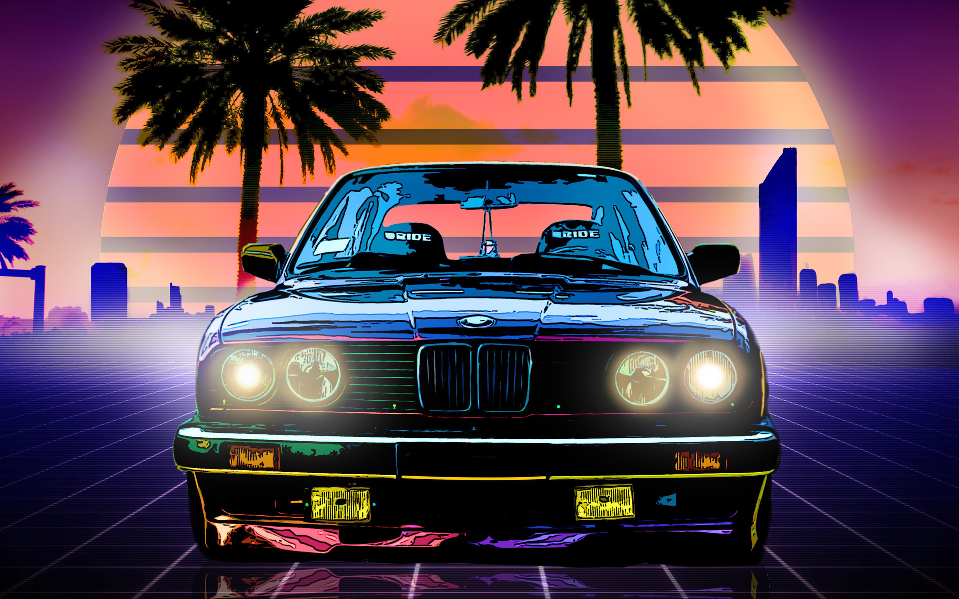 1920x1200 Bmw E30 Digital Art 4k 1080p Resolution Hd 4k Wallpapers Images Backgrounds Photos And Pictures