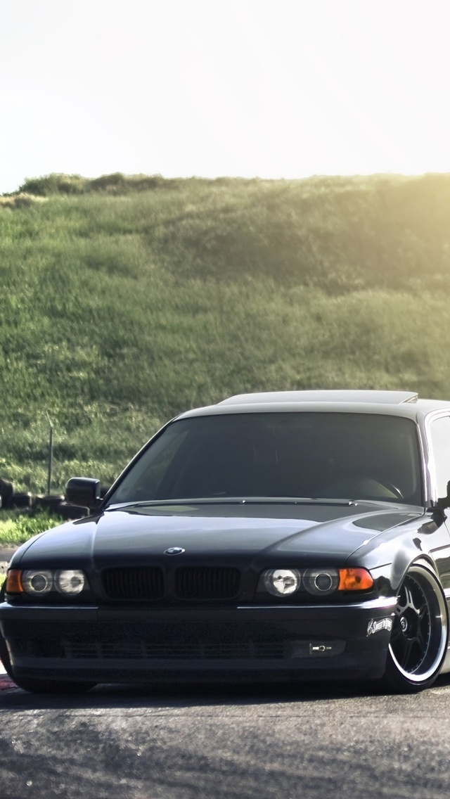 640x1136 Bmw E38 Lowride Iphone 5 5c 5s Se Ipod Touch Hd 4k Wallpapers Images Backgrounds Photos And Pictures