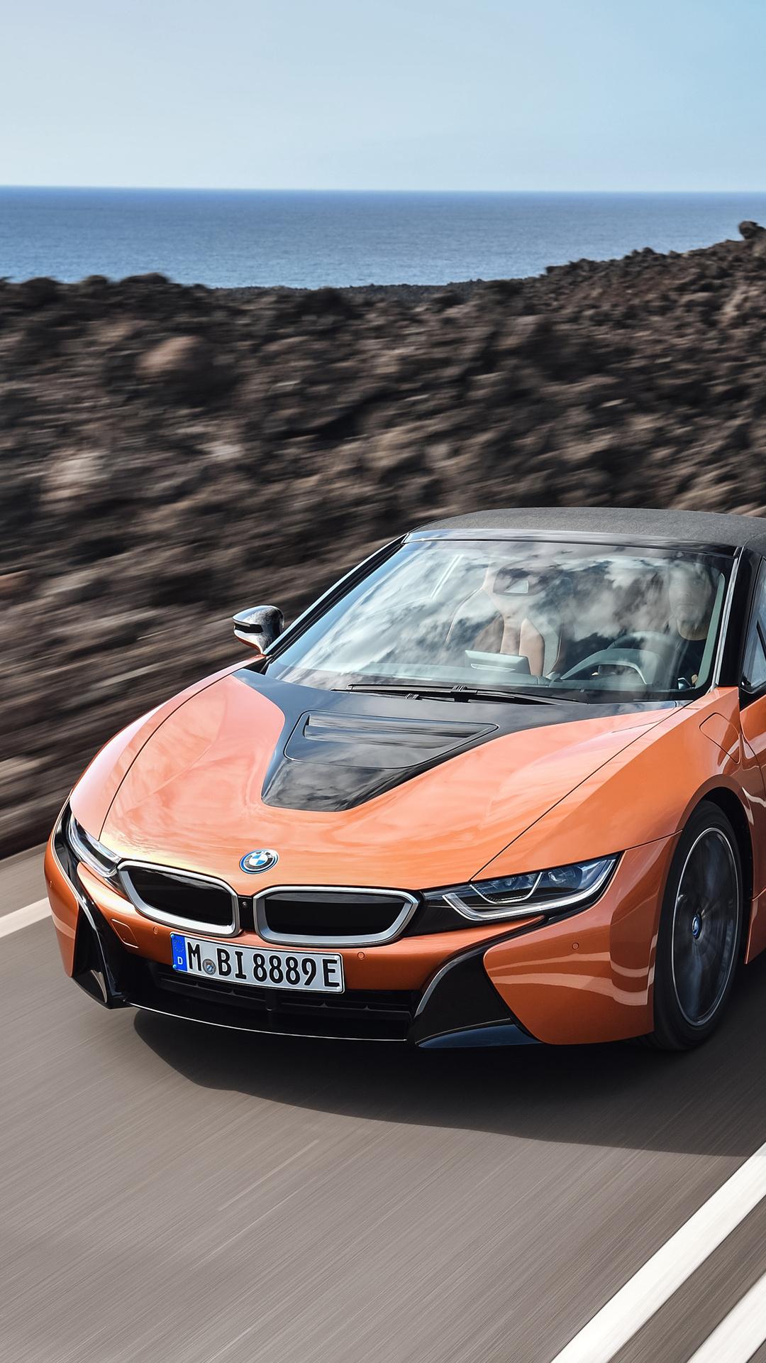 1080x1920 Bmw I8 Roadster Iphone 7 6s 6 Plus Pixel Xl One Plus 3