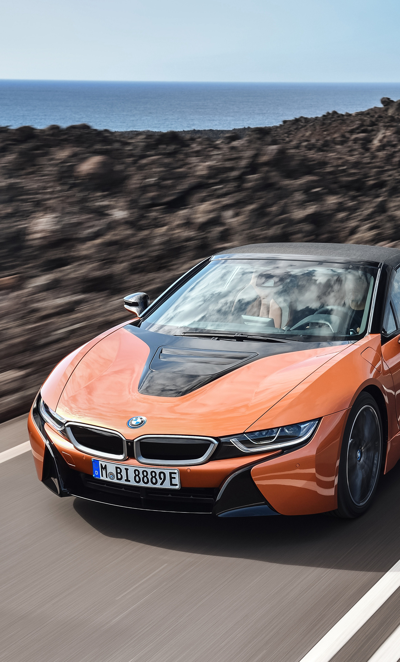 1280x2120 Bmw I8 Roadster Iphone 6 Hd 4k Wallpapers Images
