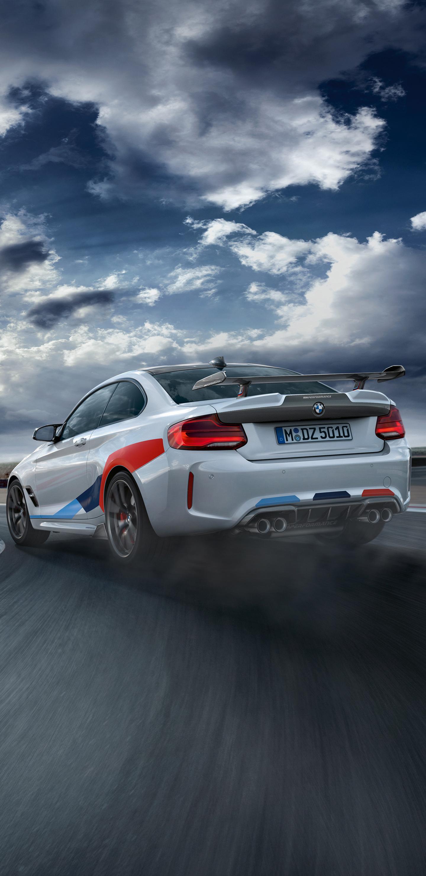 1440x2960 BMW M2 Competition M Performance 2018 Drifting ...