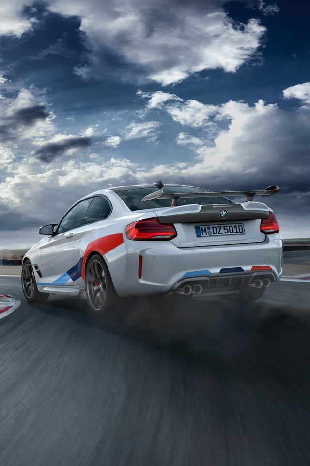 640x960 Bmw M2 Competition M Performance 2018 Drifting Iphone 4