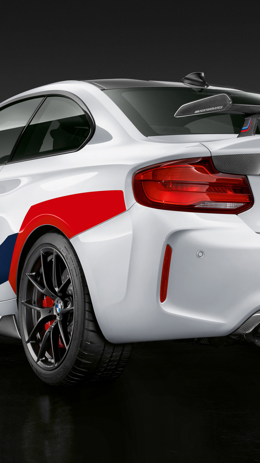1080x1920 Bmw M2 Competition M Performance 2018 Rear Iphone 7 6s 6