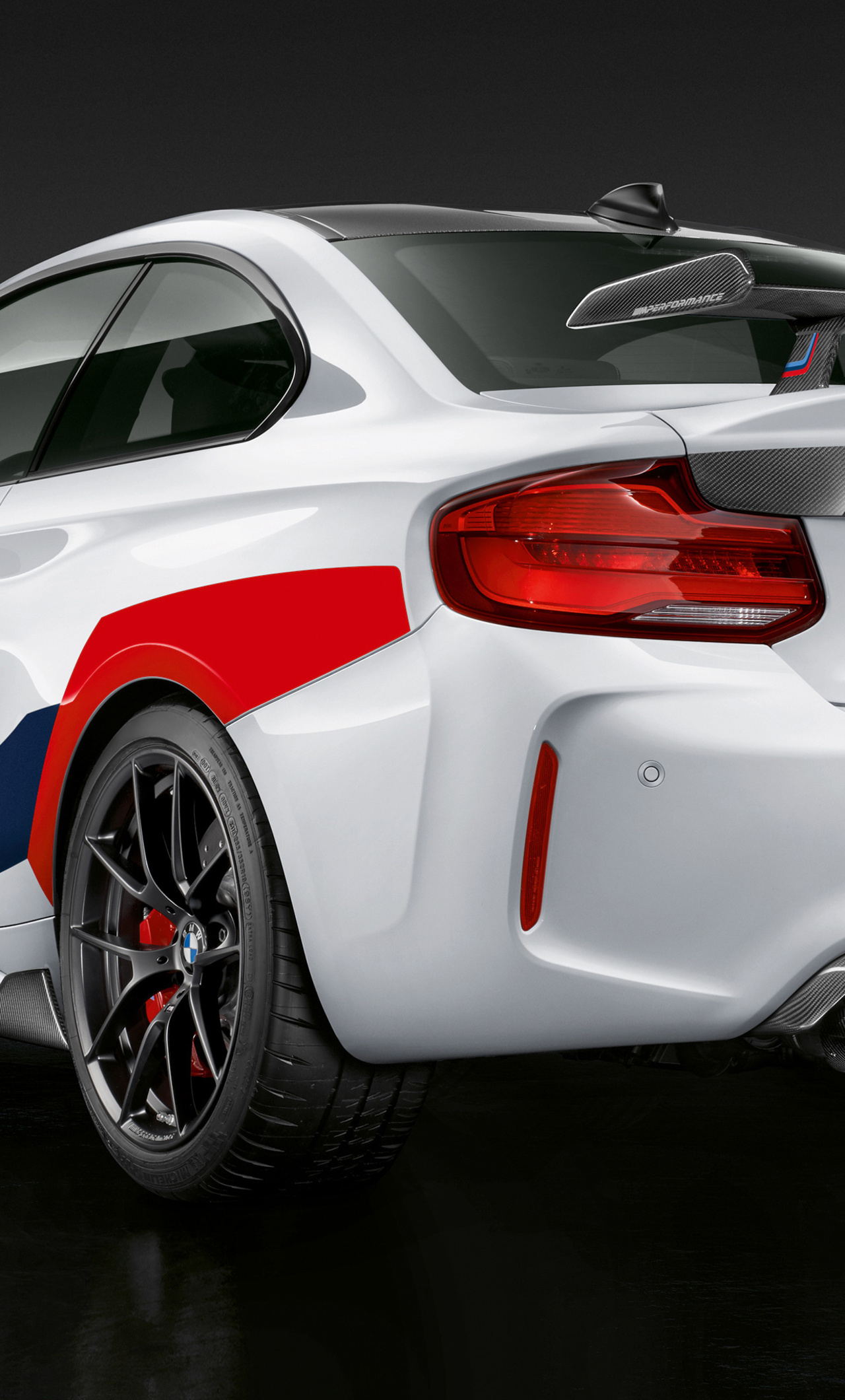1280x2120 Bmw M2 Competition M Performance 2018 Rear Iphone