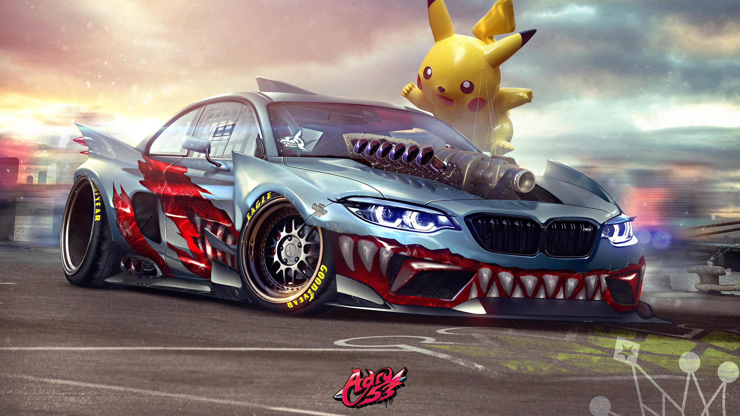 2560x1440 bmw m2 supercharged pokemon 1440p resolution hd 4k
