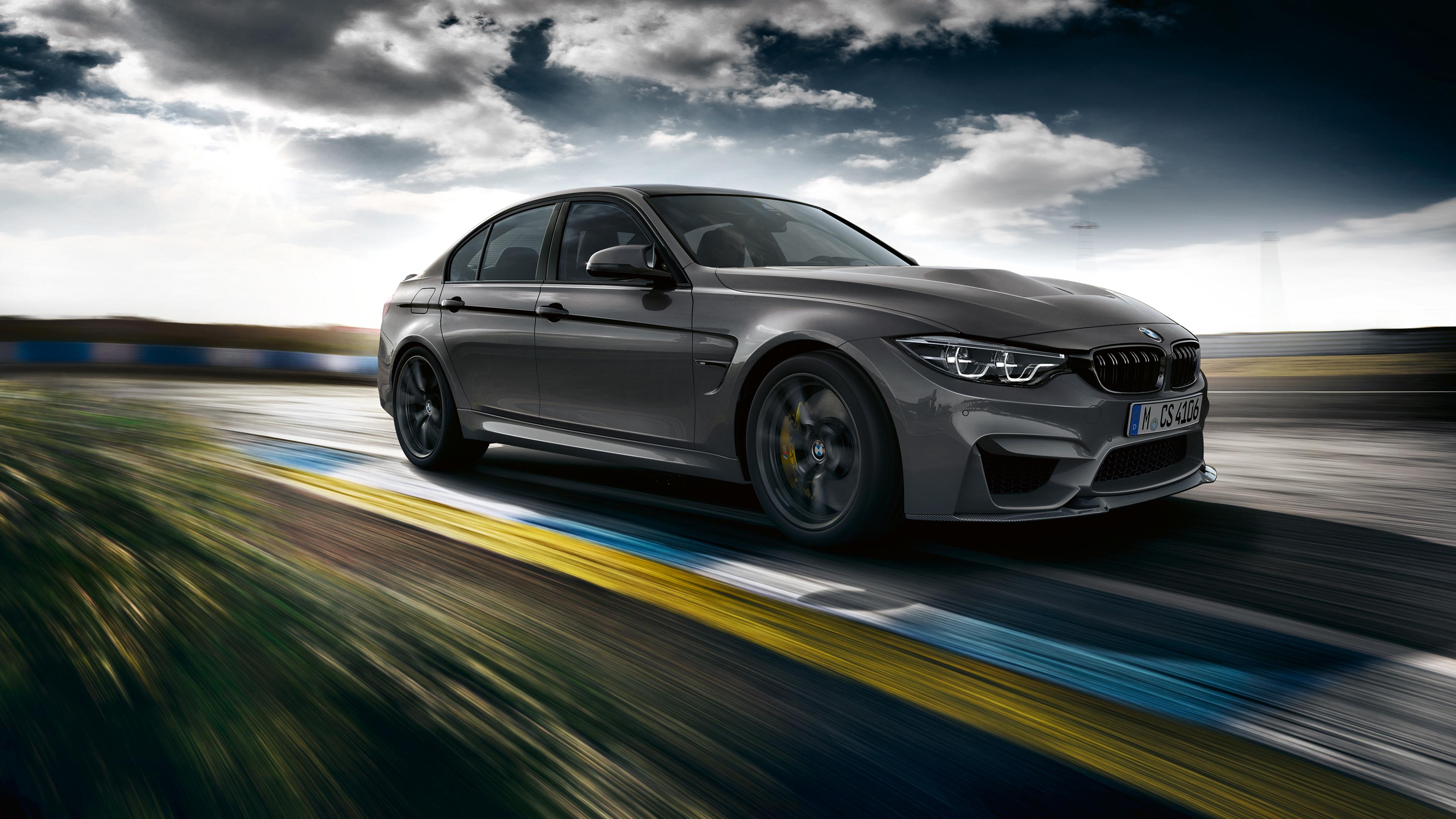 Серебристый BMW скачать