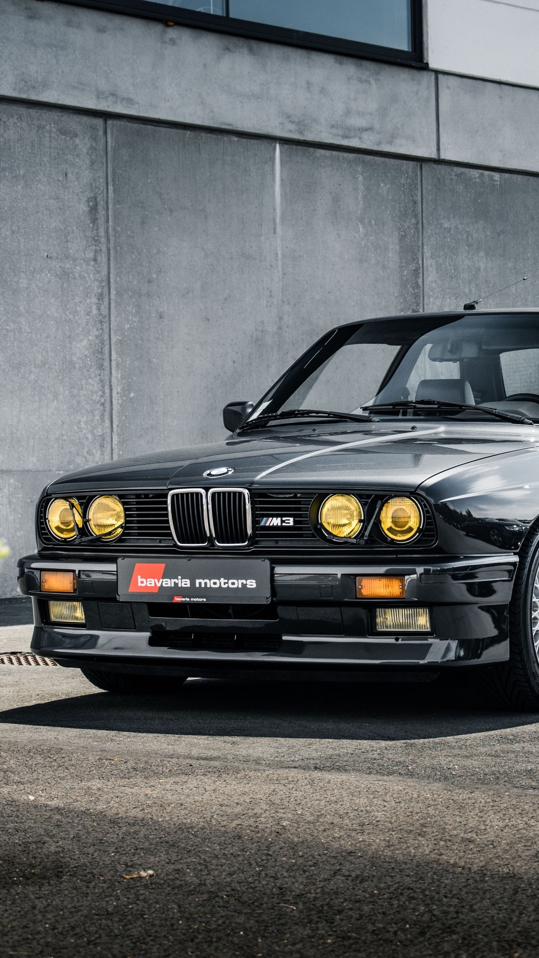 1080x1920 BMW M3 E30 3 Series Black Coupe Iphone 7,6s,6 ...