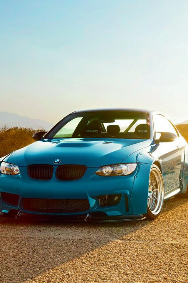 640x960 Bmw M3 E92 Blue Iphone 4 Iphone 4s Hd 4k Wallpapers