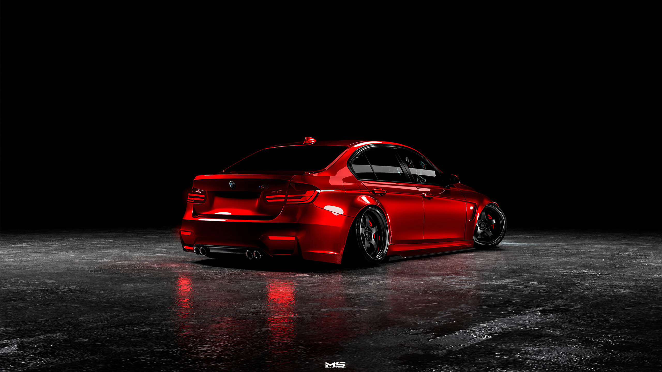 2560x1440 Bmw M3 F30 4k 1440p Resolution Hd 4k Wallpapers Images Backgrounds Photos And Pictures