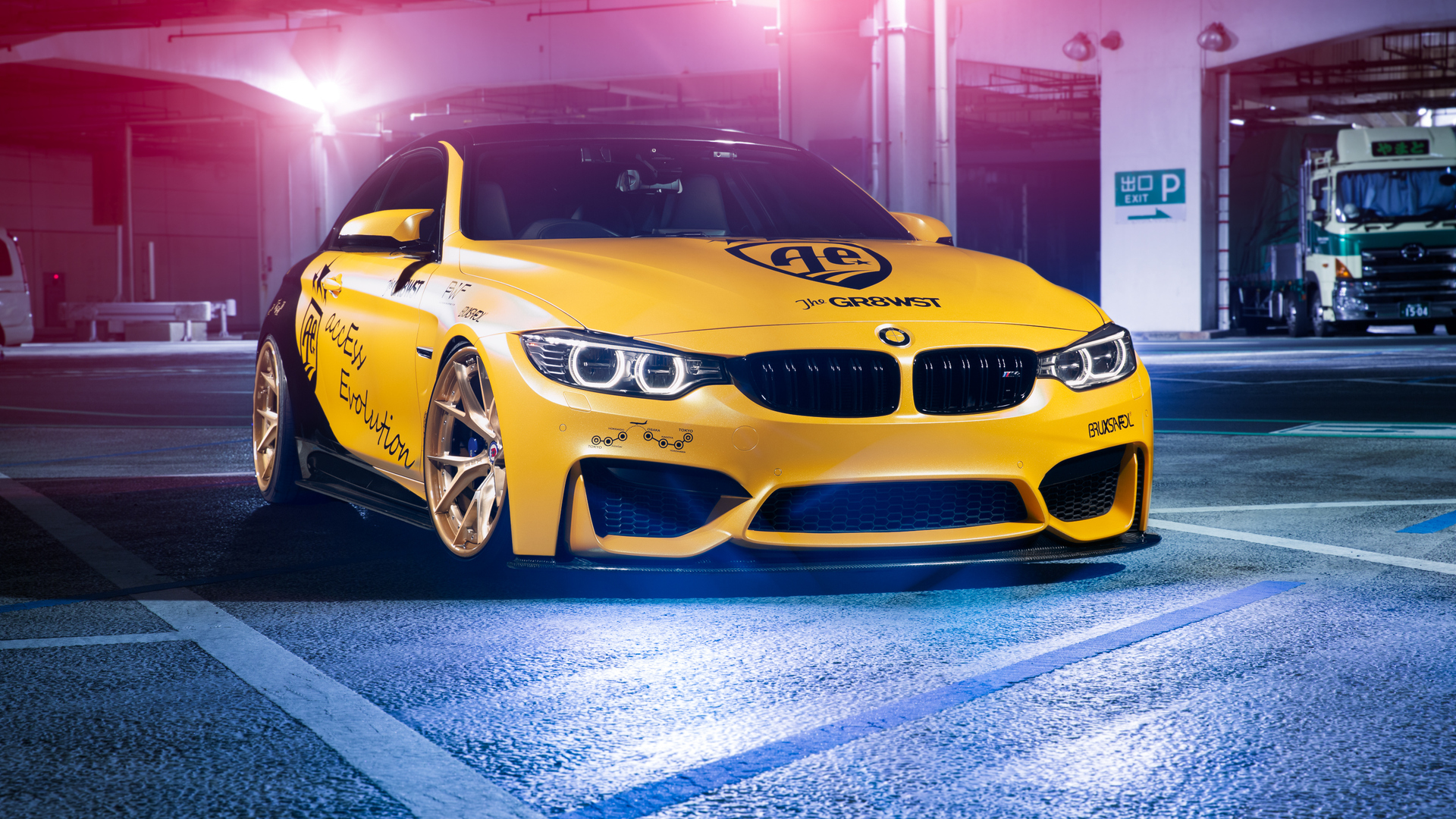 1920x1080 BMW M4 Automotive Design Laptop Full HD 1080P HD ...