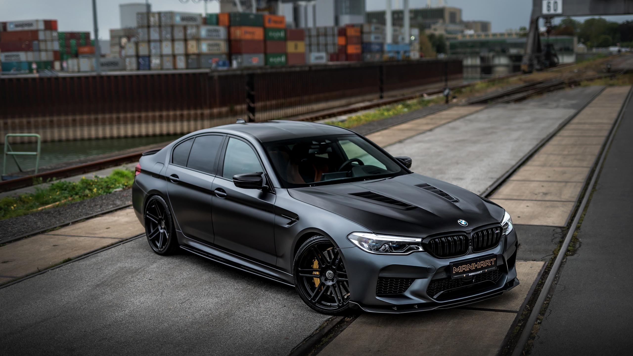2560x1440 BMW M5 Manhart V8 F90 5k 1440P Resolution HD 4k ...