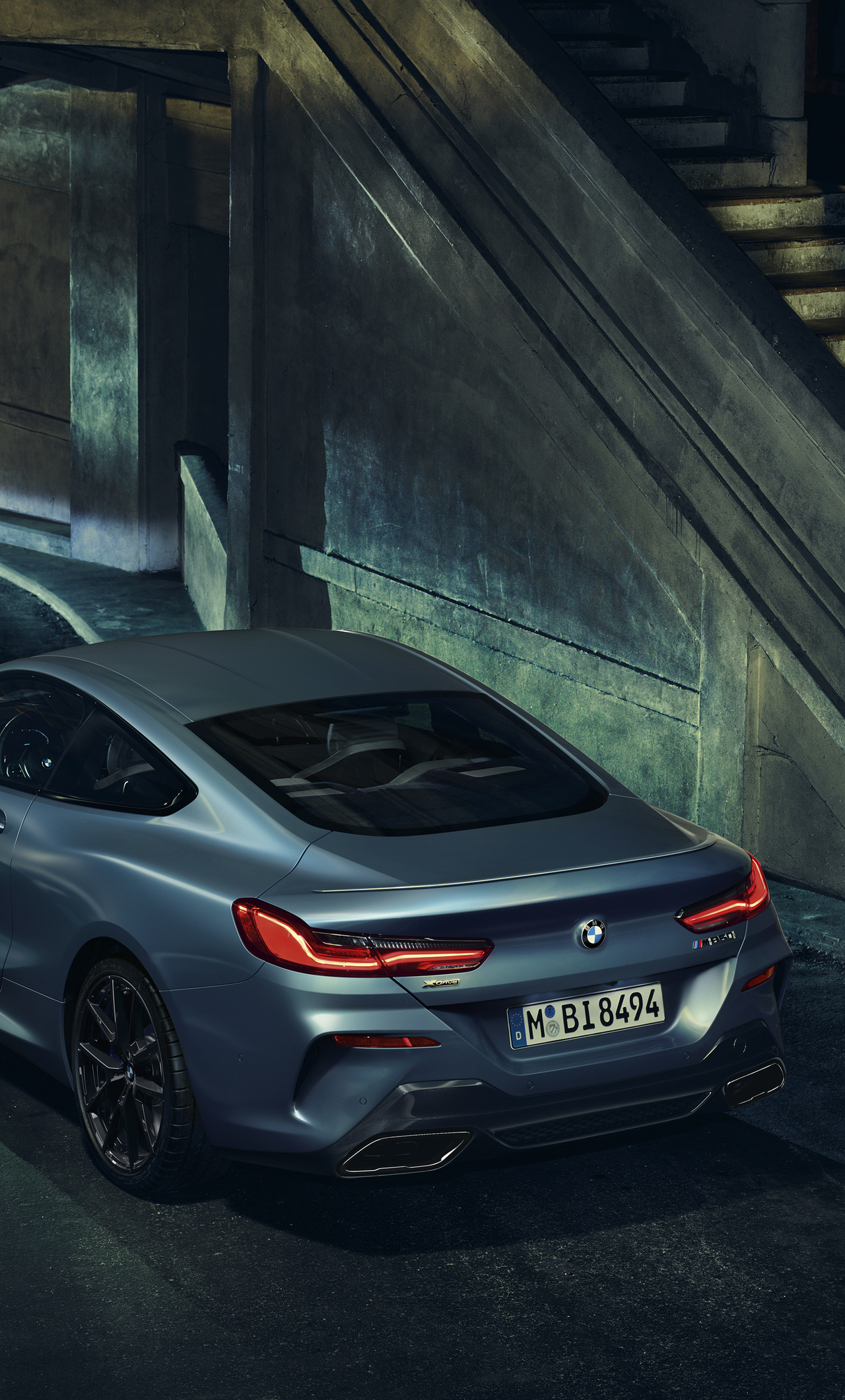 1280x2120 BMW M850i Rear iPhone 6+ HD 4k Wallpapers ...