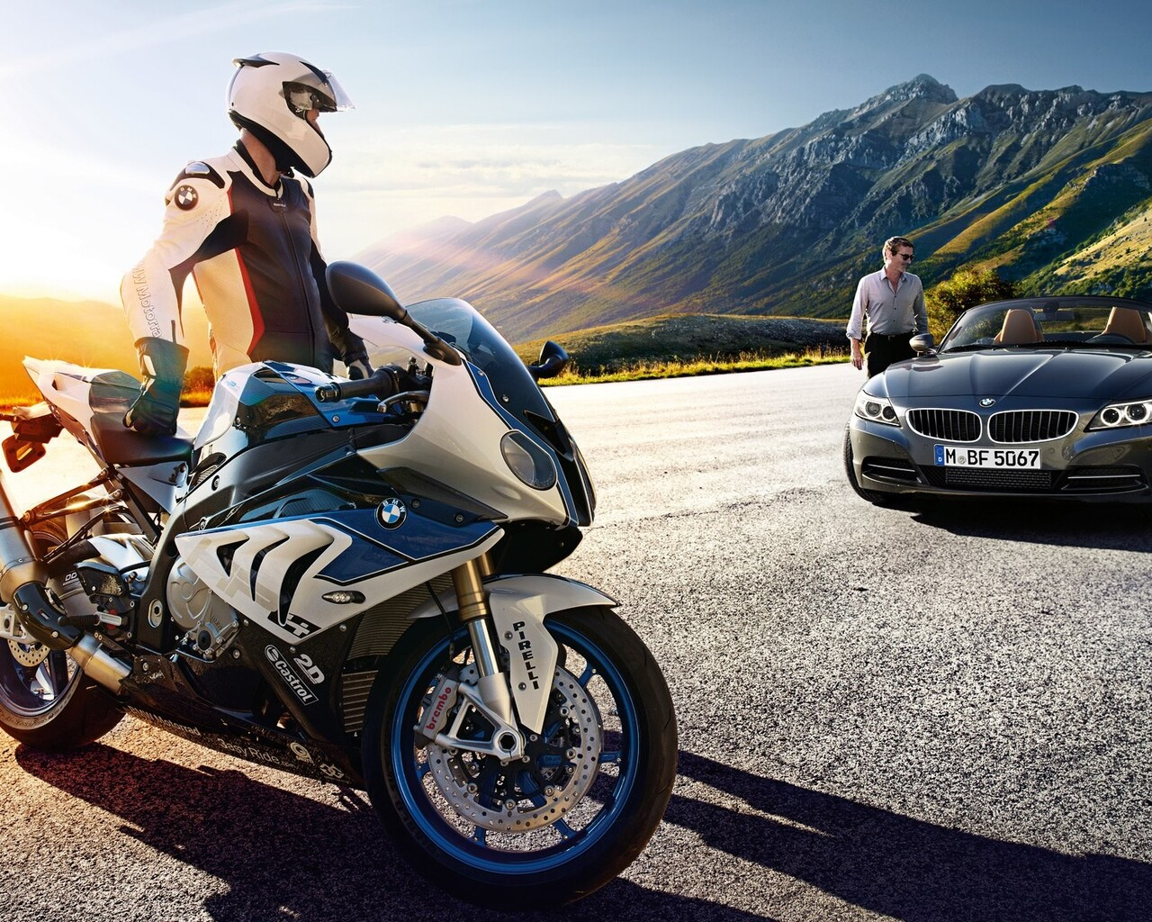 1280x1024 Bmw S1000rr Vs Car 1280x1024 Resolution Hd 4k Wallpapers Images Backgrounds Photos And Pictures