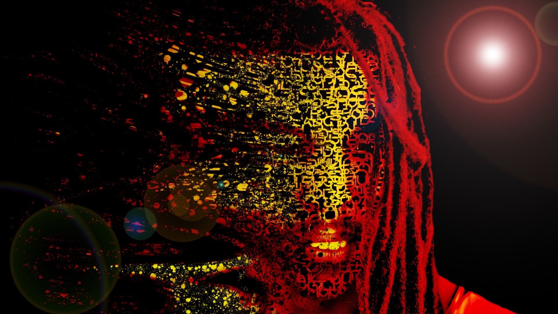 1920x1080 bob marley mask abstract artwork 4k laptop full hd 1080p hd 4k wallpapers images - Background images 4k hd ...