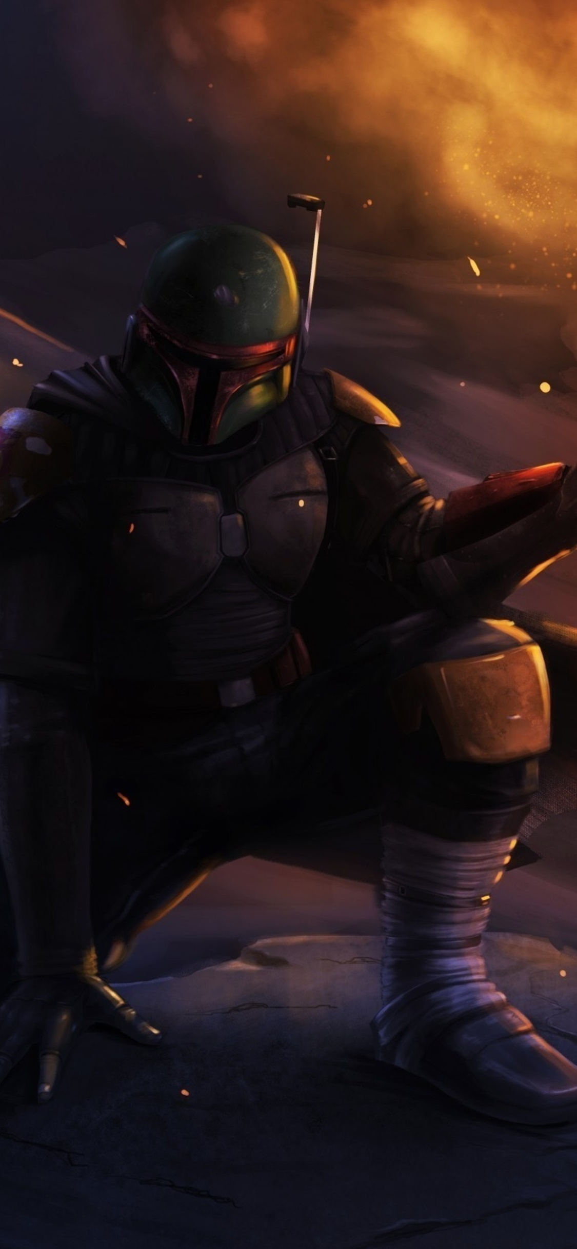 1125x2436 Boba Fett Star Wars Iphone Xs Iphone 10 Iphone X Hd 4k