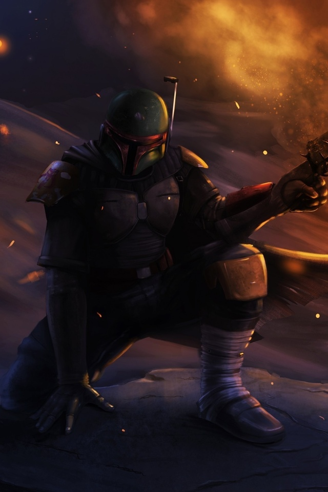 Boba Fett Star Wars 3l