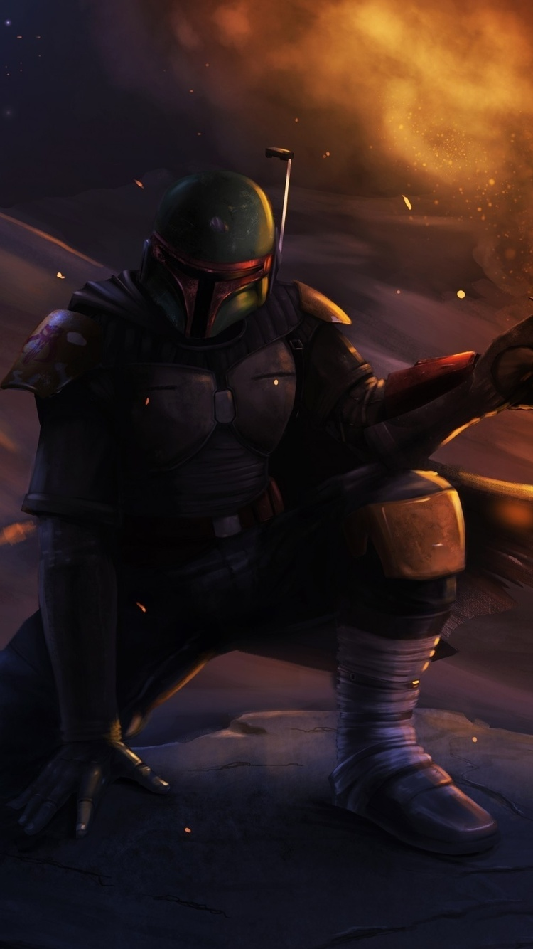Boba Fett Star Wars 3l