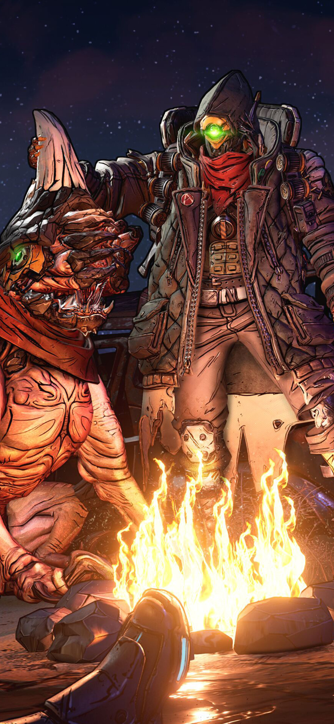 1125x2436 Borderlands 3 2019 4k Iphone Xs Iphone 10 Iphone X