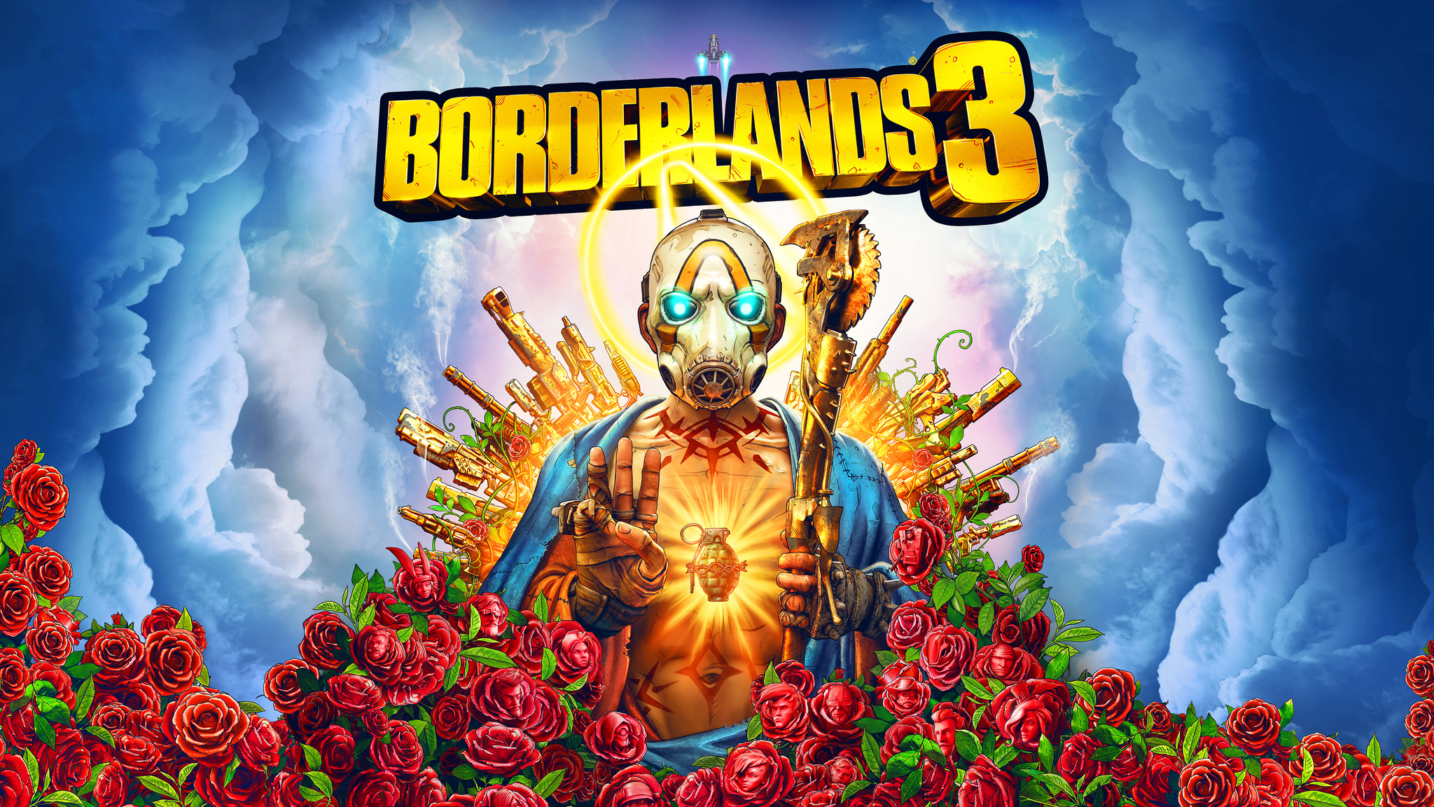 2048x1152 Borderlands 3 Poster 2019 2048x1152 Resolution