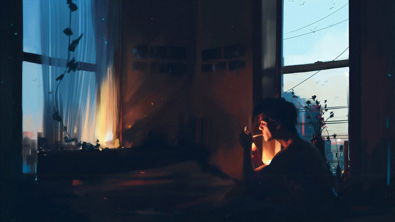 View Anime Boy Smoking Wallpaper Hd Gif - jasmanime