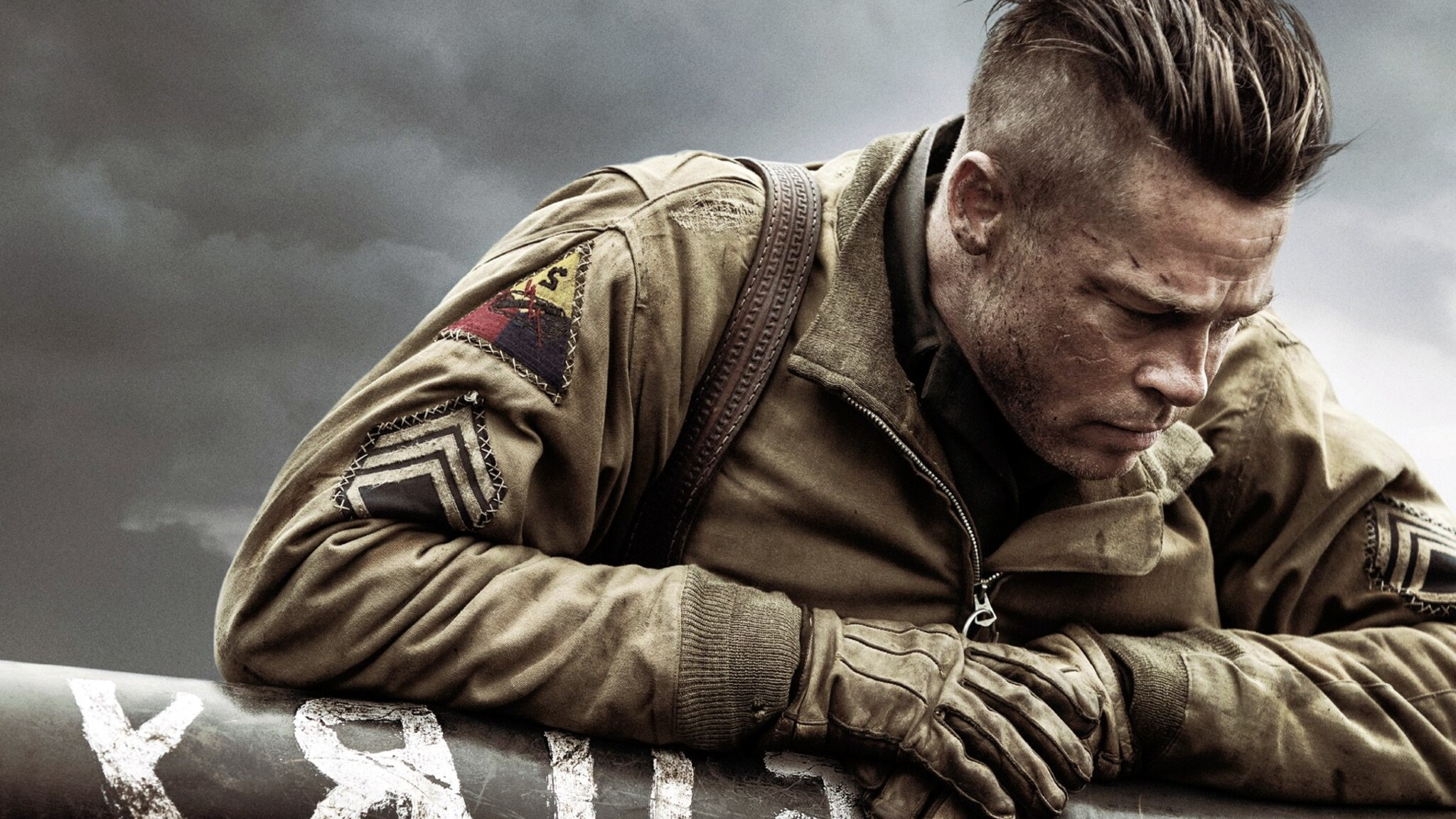Images Of The Movie Fury: 2048x1152 Brad Pitt In Fury Movie 2048x1152 Resolution HD