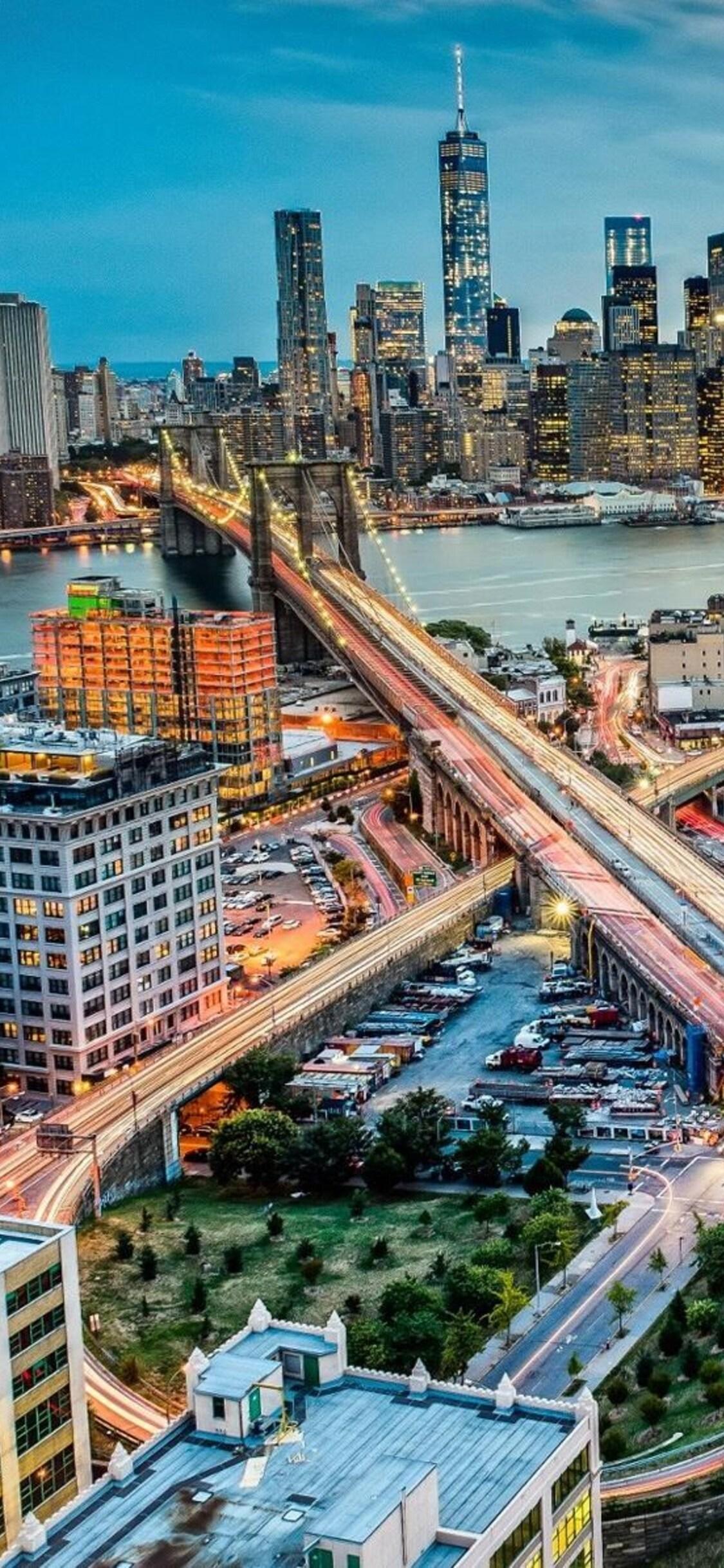 New York Skyline Iphone X Wallpaper Vinny Oleo Vegetal Info