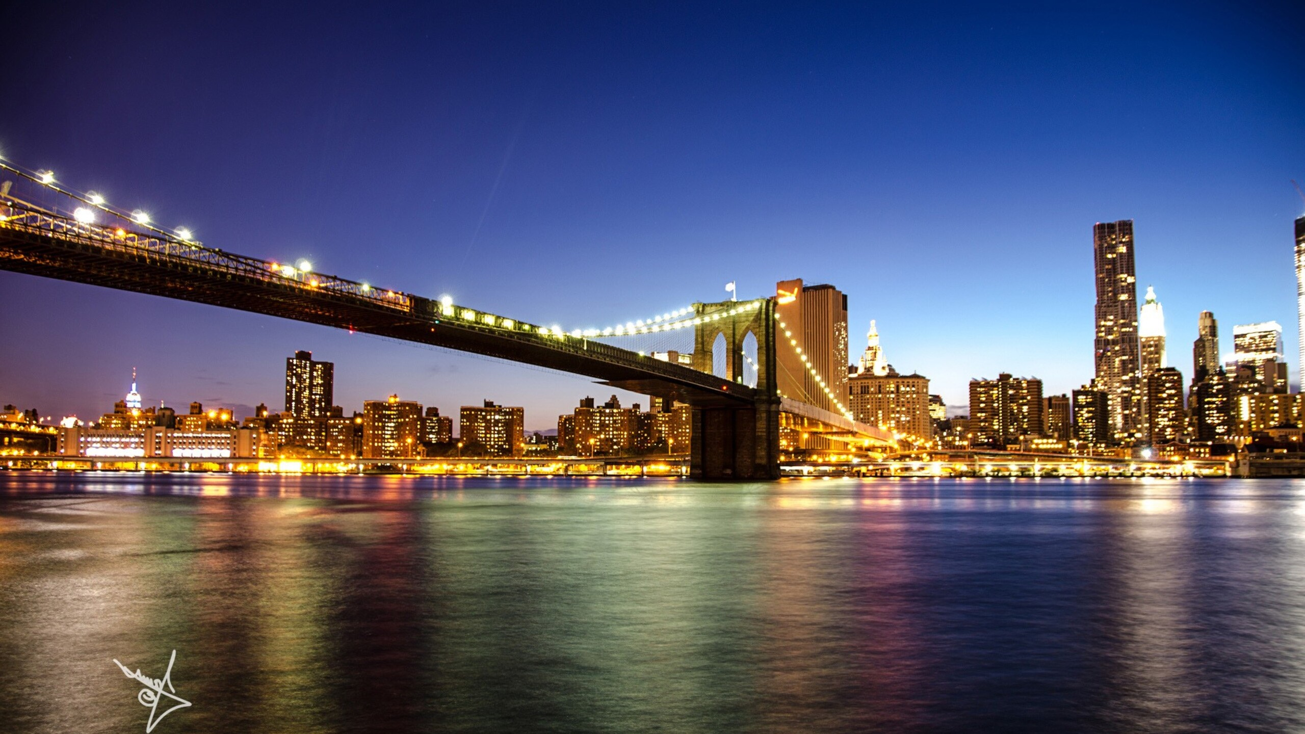 2560x1440 Brooklyn Bridge In New York 1440p Resolution Hd 4k