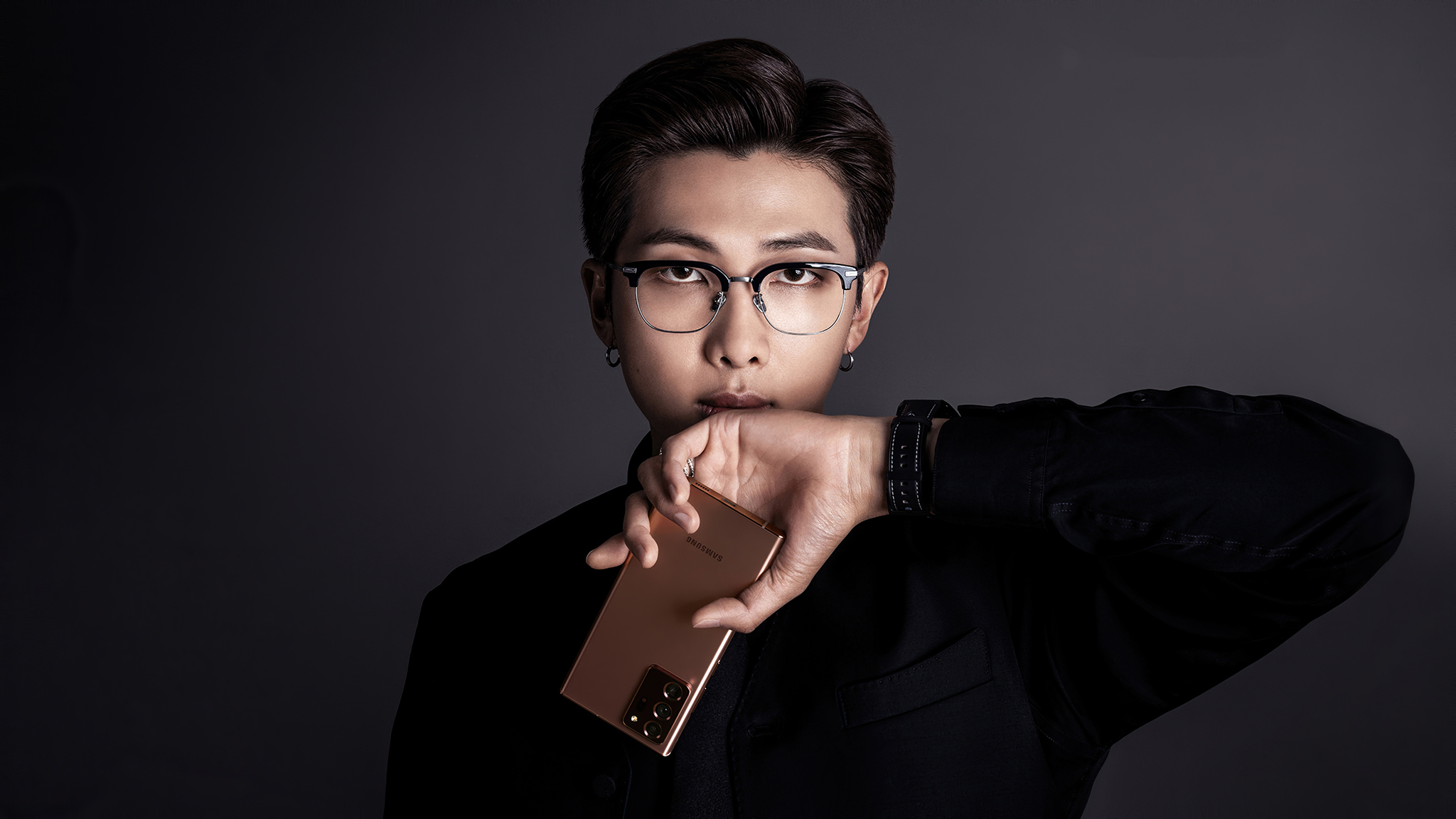 2048x1152 BTS Rm Samsung Galaxy Note 20 2048x1152 Resolution HD 4k Wallpapers, Images ...