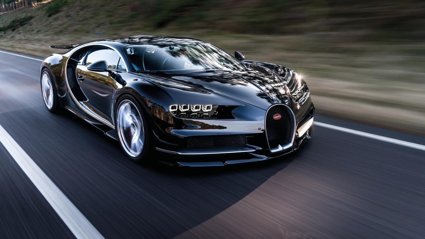 1366x768 Bugatti Chiron Black 1366x768 Resolution Hd 4k