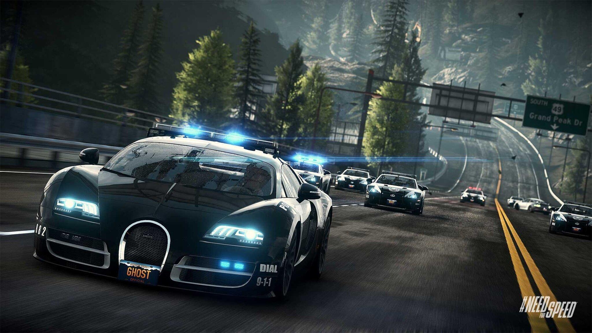 2048x1152 Bugatti Cop Car 2048x1152 Resolution Hd 4k Wallpapers