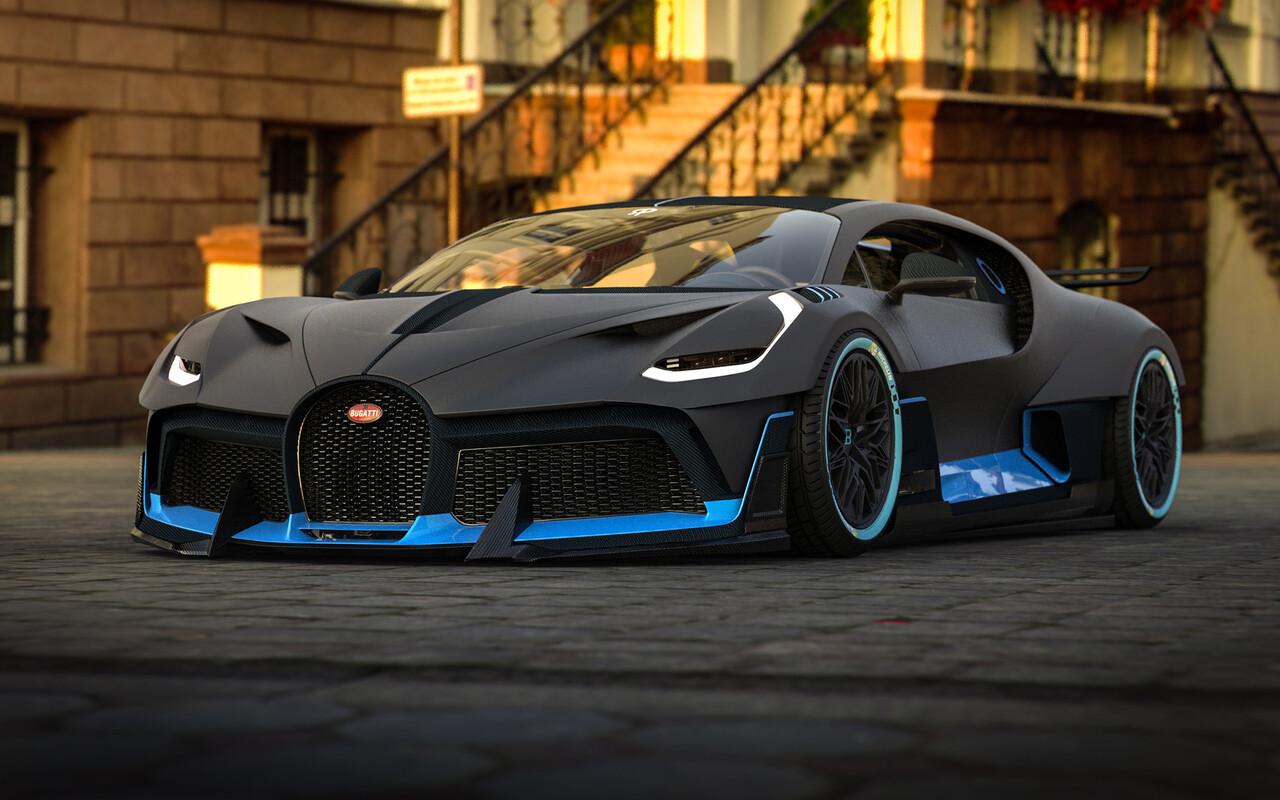 1280x800 Bugatti Divo 2018 Art 720P HD 4k Wallpapers ...
