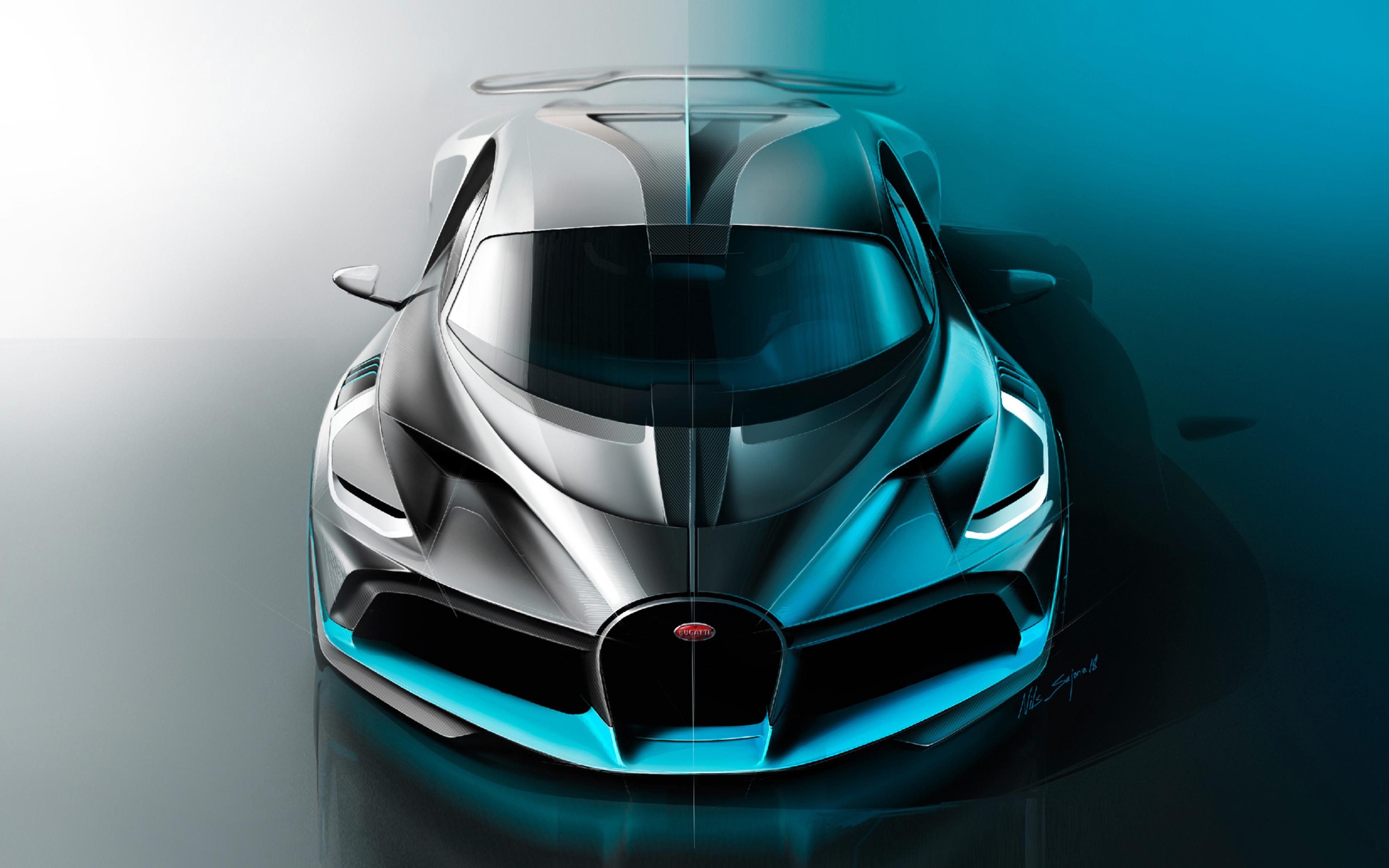 3840x2400 Bugatti Divo 2018 Latest 4k HD 4k Wallpapers ...