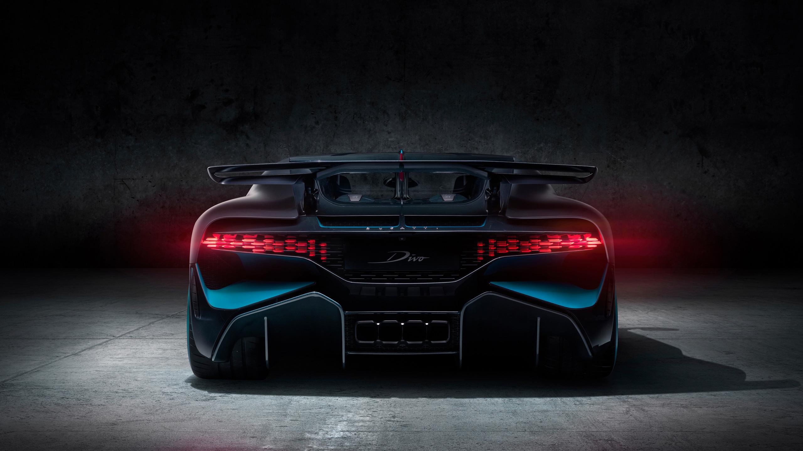 2560x1440 Bugatti Divo 2018 Rear 1440P Resolution HD 4k ...