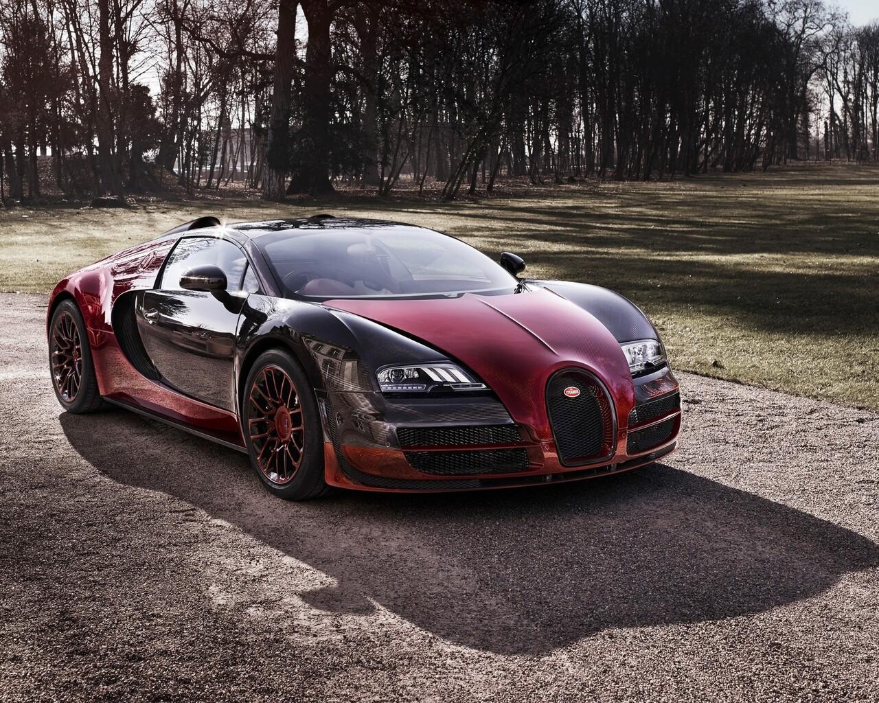 Bugatti Veyron Wallpaper 1280x1024