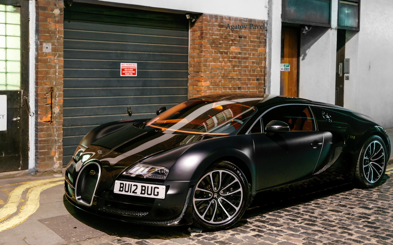Bugatti Schwarz Matt – Auto Bild Ideen