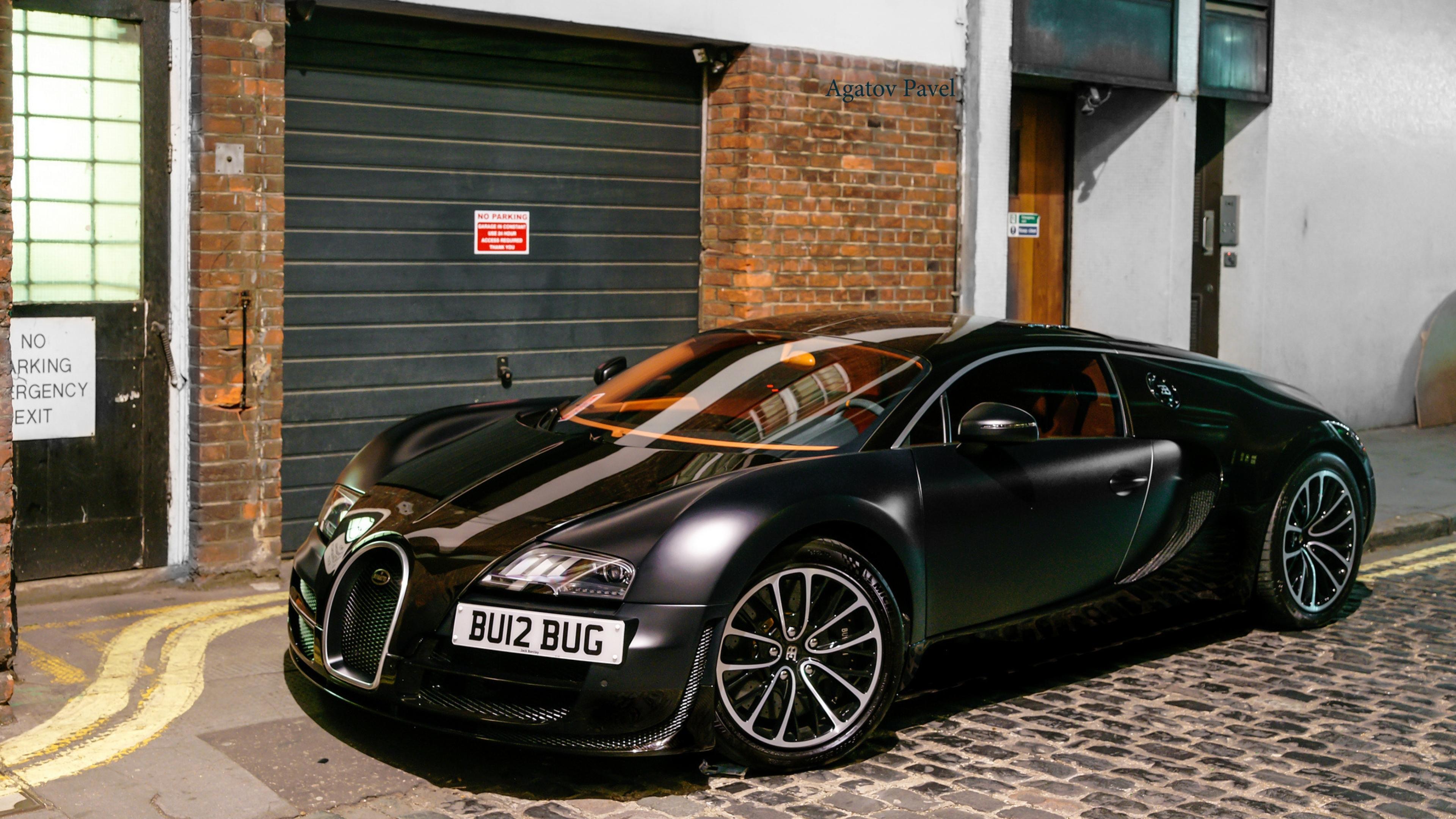 серебристая Bugatti смотреть