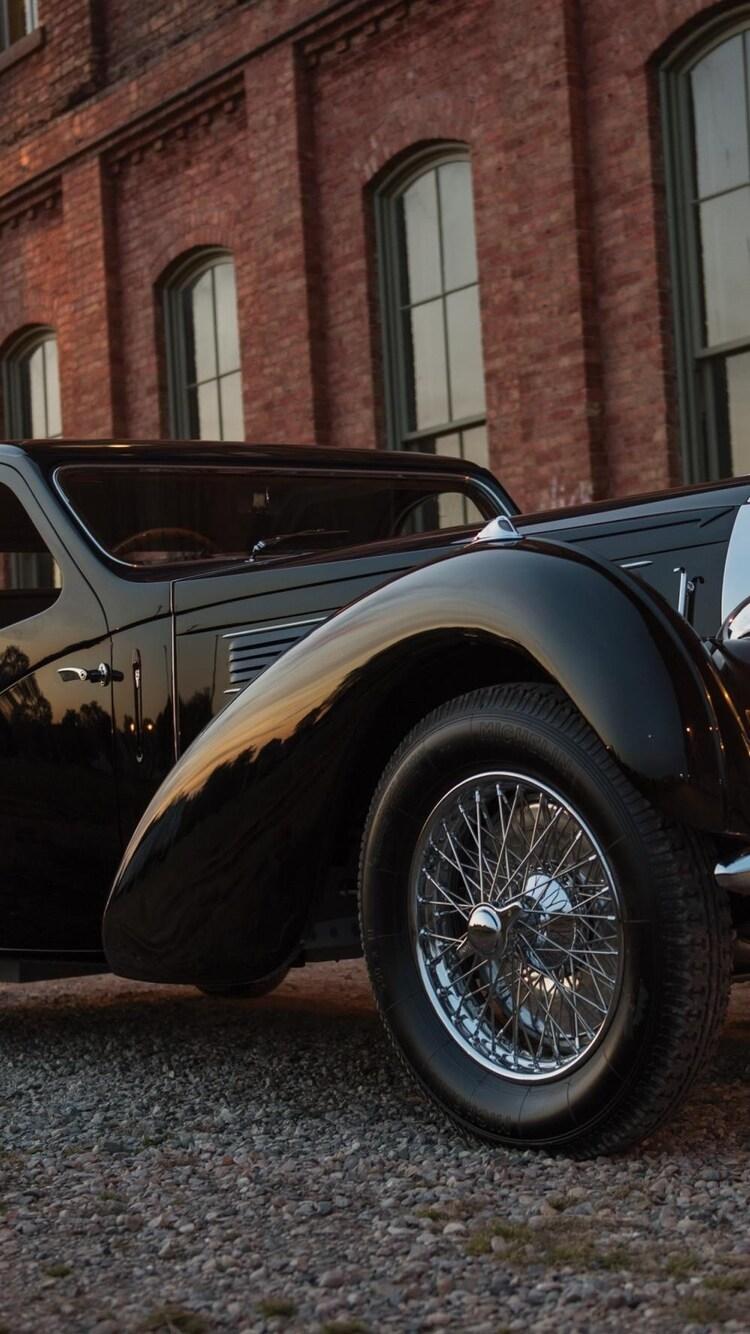 750x1334 Bugatti Vintage Car Iphone 6 Iphone 6s Iphone 7 Hd 4k