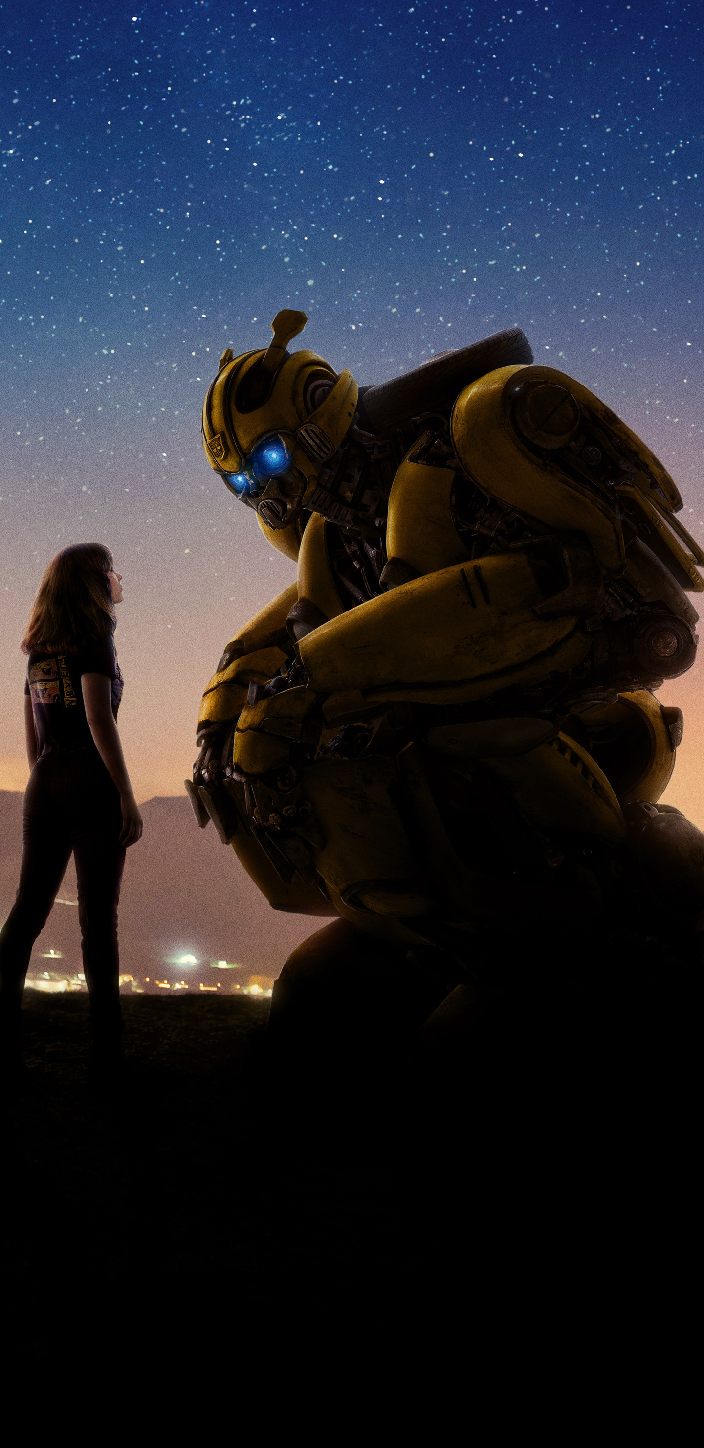 1440x2960 Bumblebee Movie 2018 Cool New Poster 5k Samsung ...