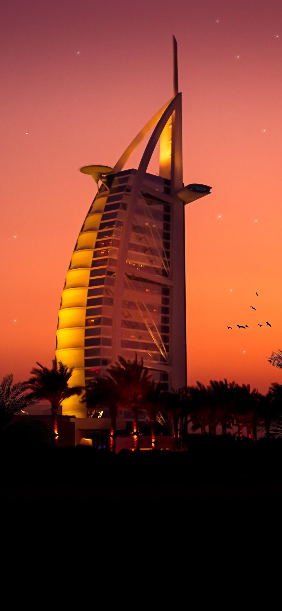 1125x2436 Burj Al Arab Iphone Xs Iphone 10 Iphone X Hd 4k