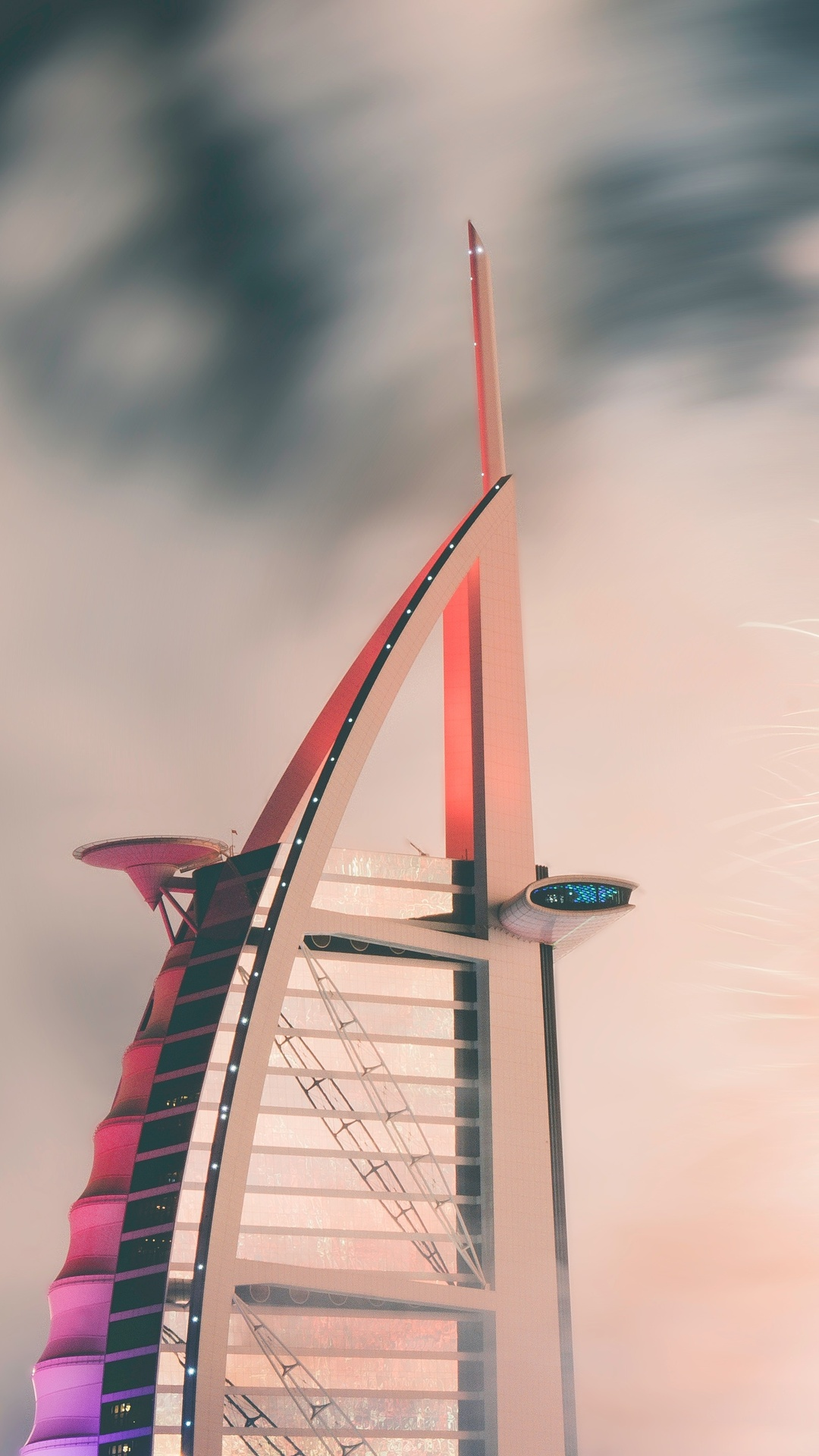 1080x1920 Burj Al Arab Jumeirah Iphone 7 6s 6 Plus Pixel Xl