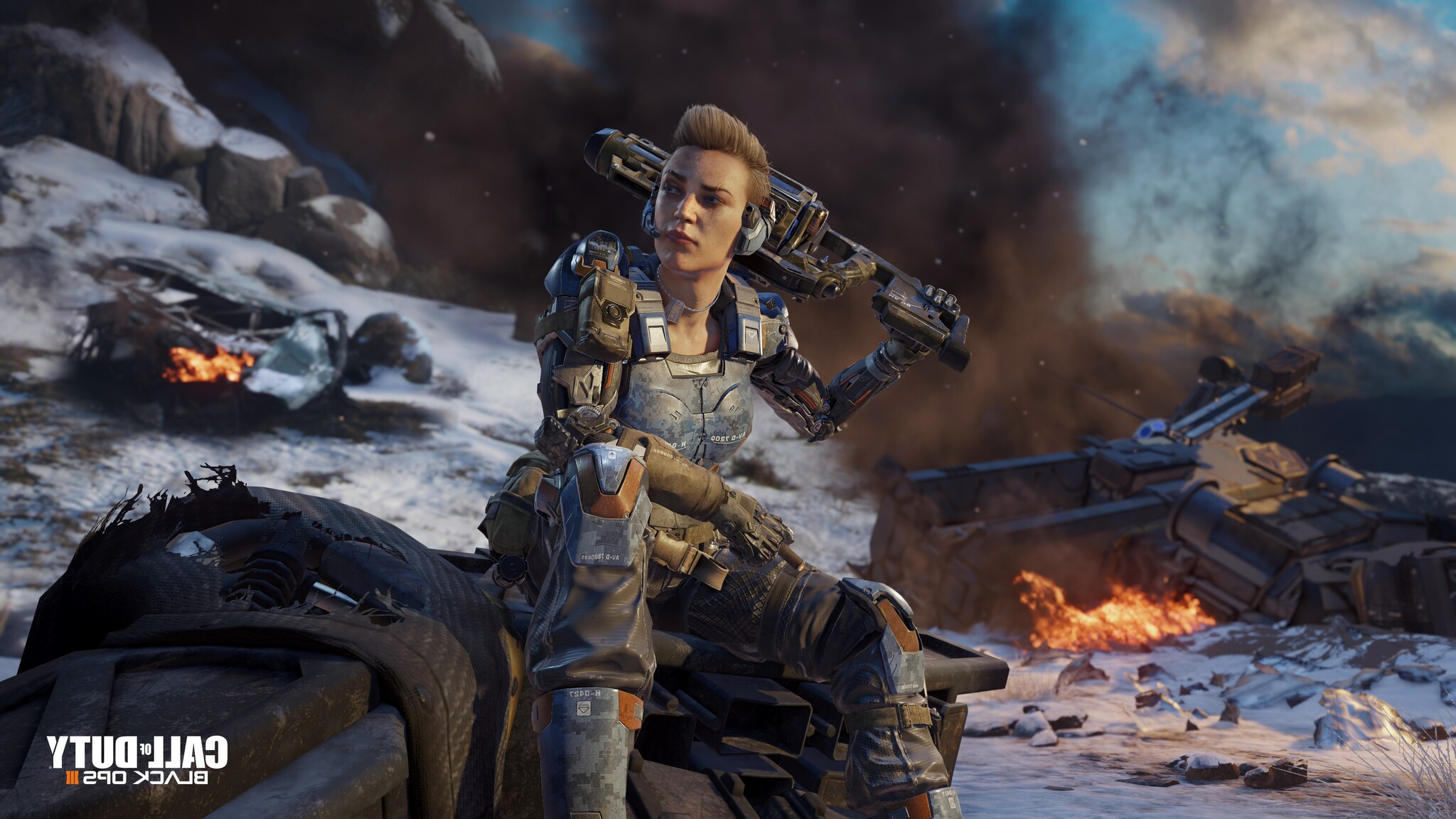 2048x1152 call of duty black ops 3 game 2048x1152