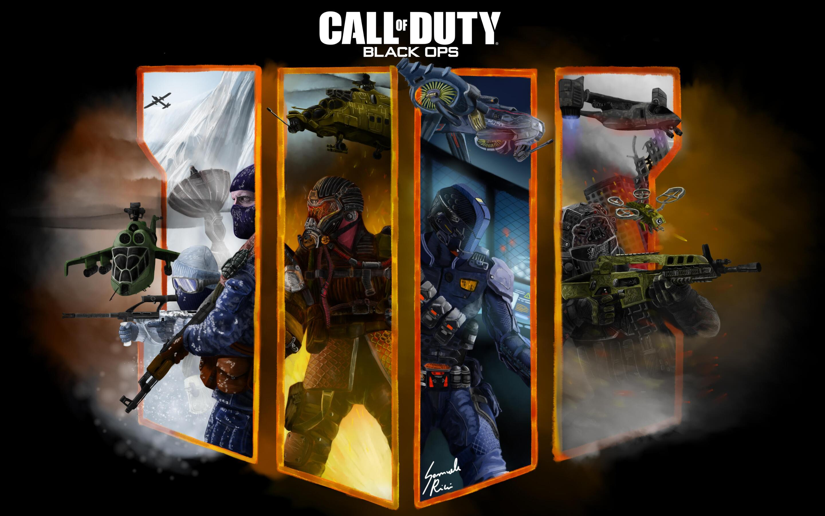 2880x1800 Call Of Duty Black Ops 4 Fan Art 4k Macbook Pro Retina Hd