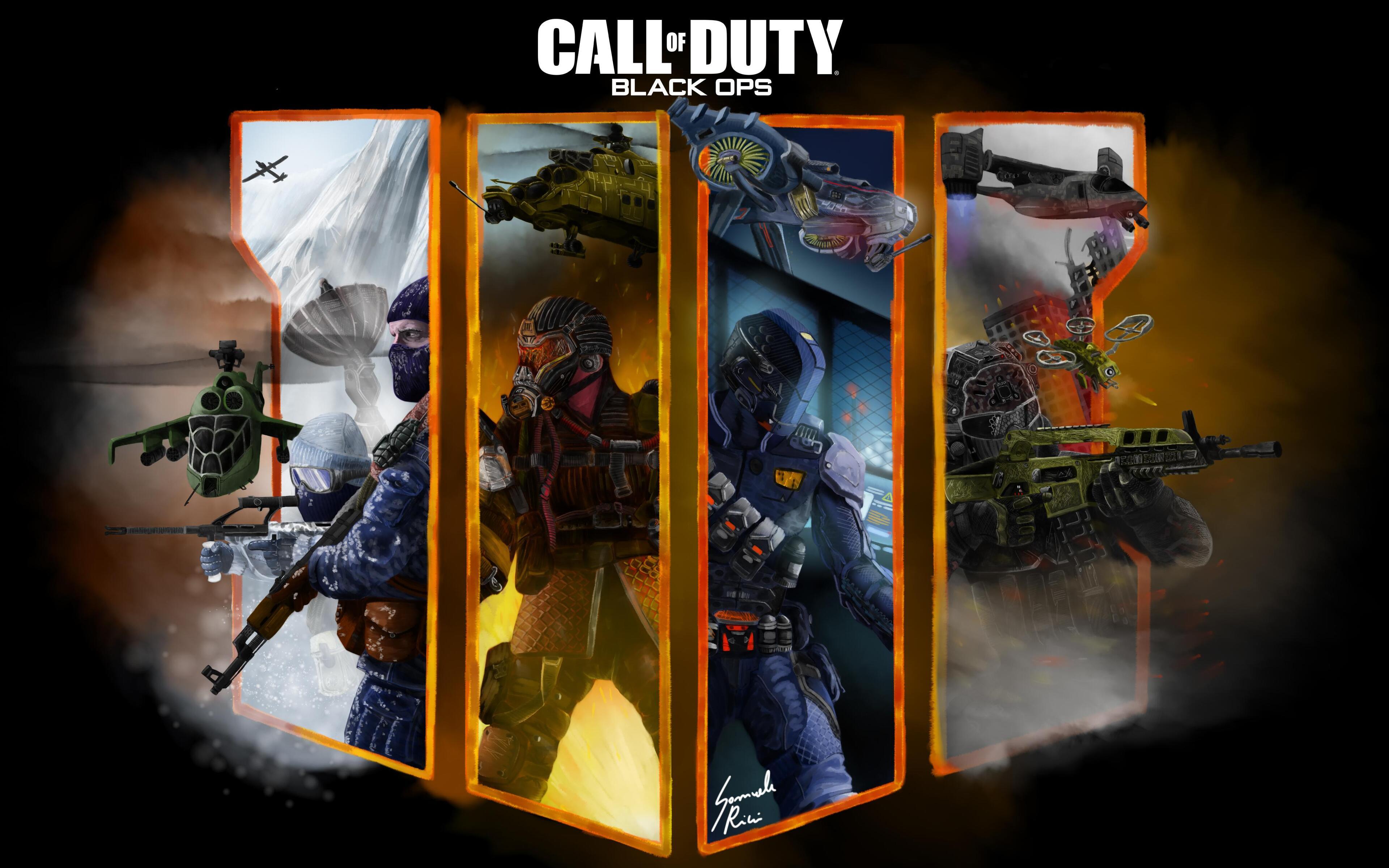 3840x2400 Call Of Duty Black Ops 4 Fan Art 4k 4k Hd 4k Wallpapers