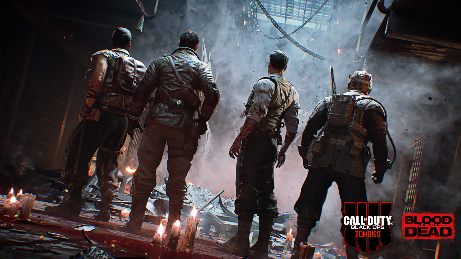 1920x1080 Call Of Duty Black Ops 4 Zombies Blood Of The Dead