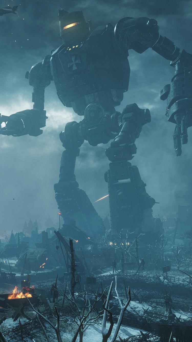 750x1334 Call Of Duty Black Ops Iii Zombies Chronicles Origins 4k